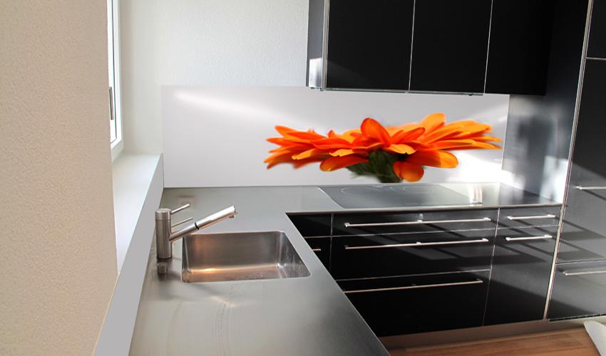 ... Grau : küche in grau und rot von roomido foto cosentino rot grau