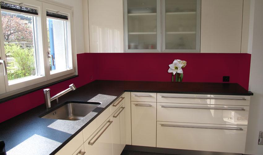 moderne k che mit weisser amarillis bild nr 0200075 kategorie 2. Black Bedroom Furniture Sets. Home Design Ideas